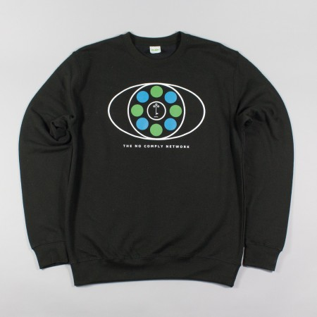 No Comply Black Jumper
