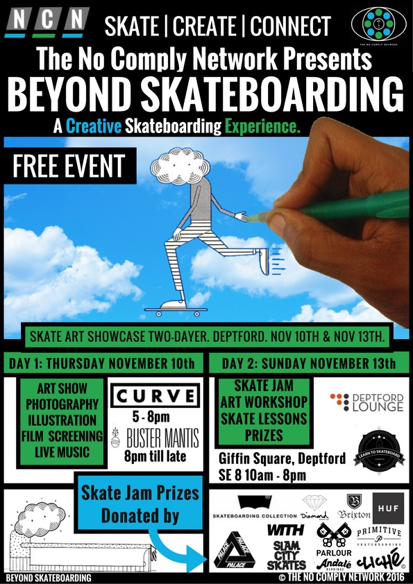 Beyond Skateboarding Deptford