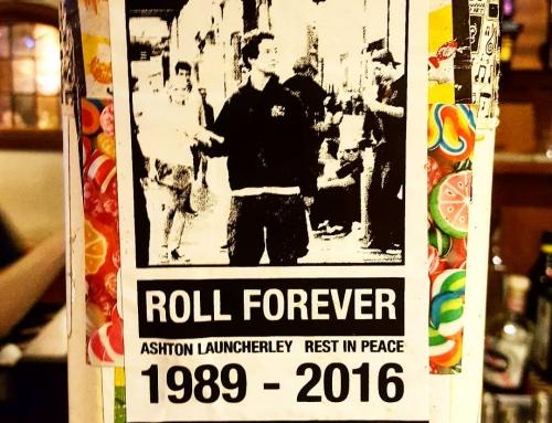 Roll Forever Ashton Happy New Year from  #ontick…