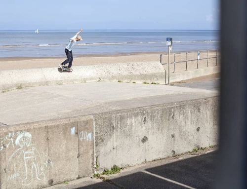 Happy Birthday Tom Day! Nose manual by the sea from a while back….