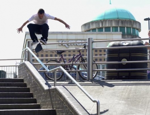 A few hours with @joorgesimoes in London for @greyskatemag & @volcomskate …