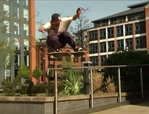 Drop and a bounce from 'Hot Freaks' filmed by @tomvandenhoeven for @welcomeskate…