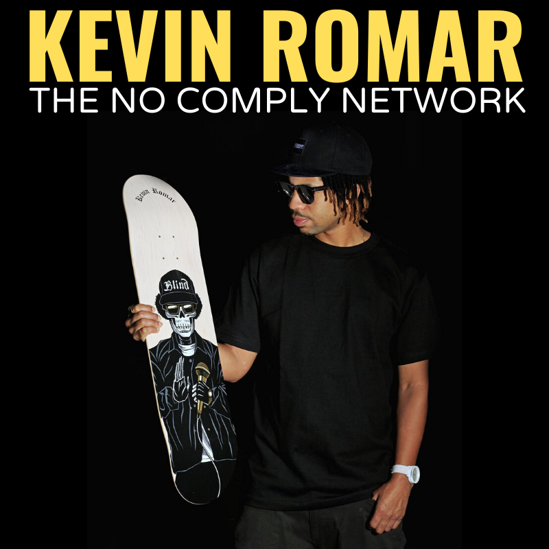 Kevin Romar No Comply Member Graphic