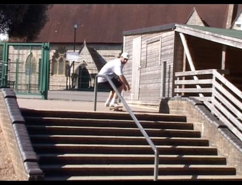Im not one to skate switch or street and this one had been on my mind for YEARS!