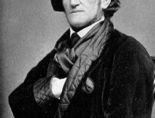 Richard Wagner displays the Sign of the Master of the Second Veil. Wagner famous