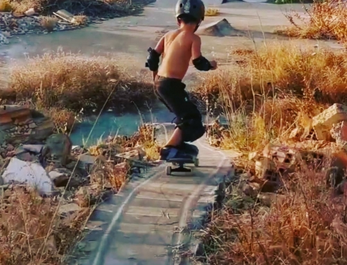 6 year old @adrisk5. Check out his new video filmed at the spot. Killing it! #gr