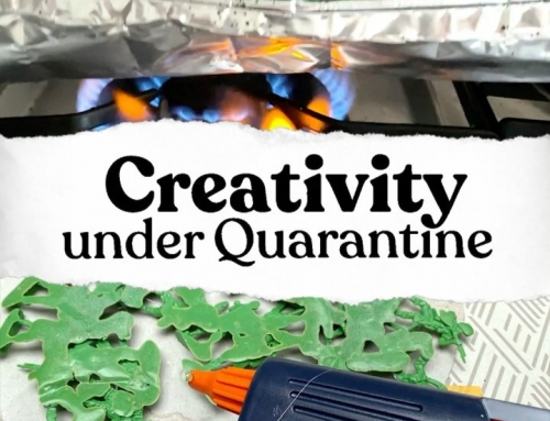 Creativity under Quarantine ep 24 – as if I managed to miss sharing this one wit