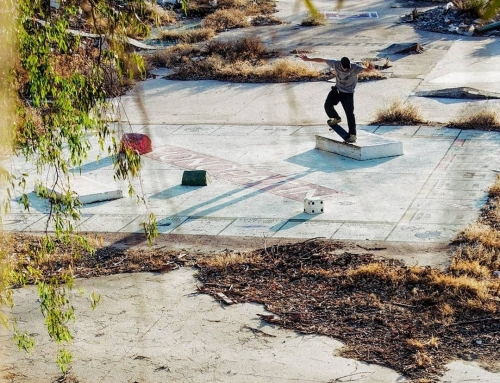 @krisforrest nosegrind on the monopoly board. Beautifully shot. More difficult s