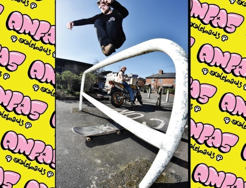 A few ones for @amfasskateboards  1. @frankthehassa hippy jump in Hereford 2. @…
