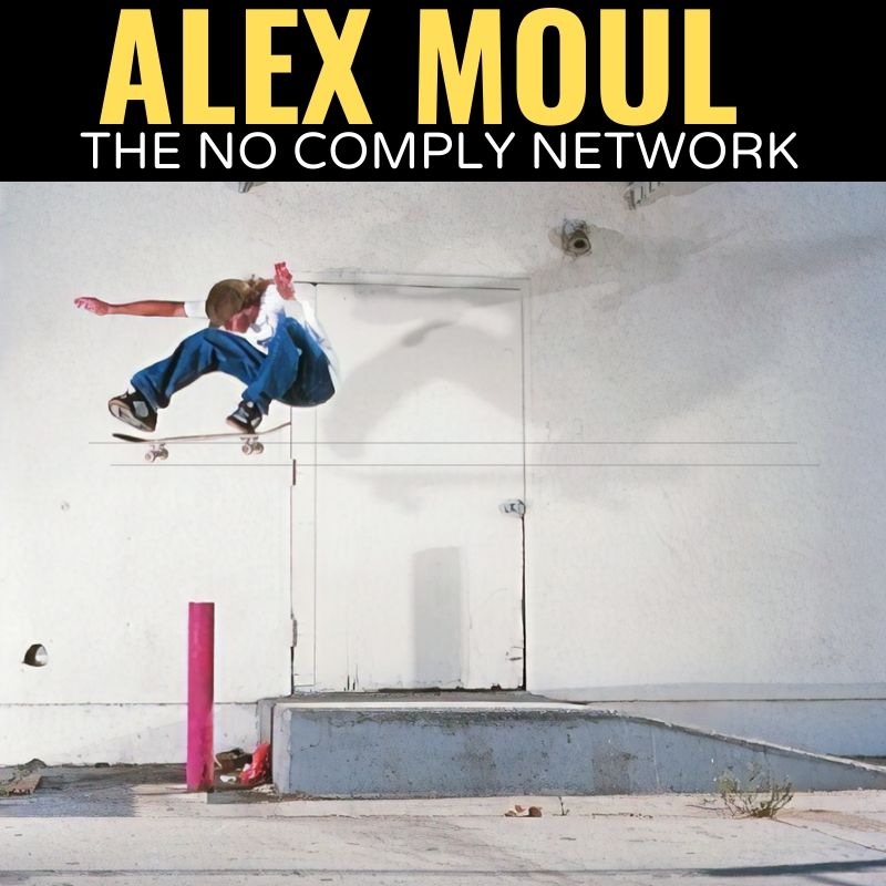 Alex Moul The No Comply Network Graphic