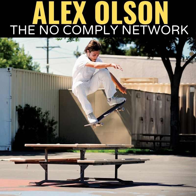Alex Olson The No Comply Network Graphic