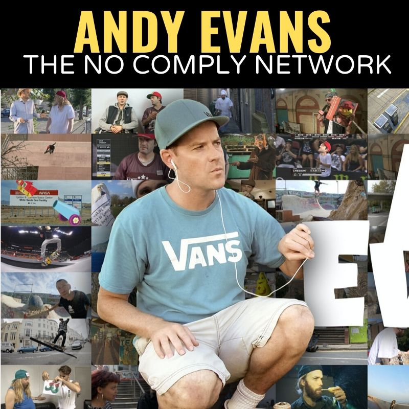 Andy Evans The No Comply Network Graphic