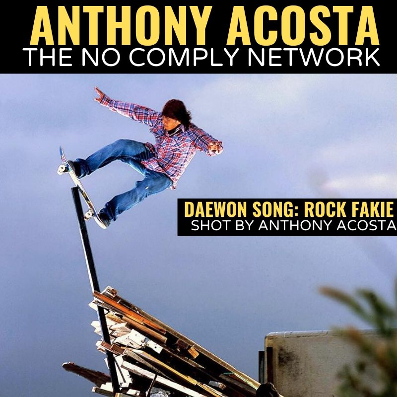 Anthony Acosta The No Comply Network Graphic One