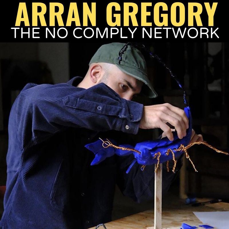 Arran Gregory The No Comply Network Graphic