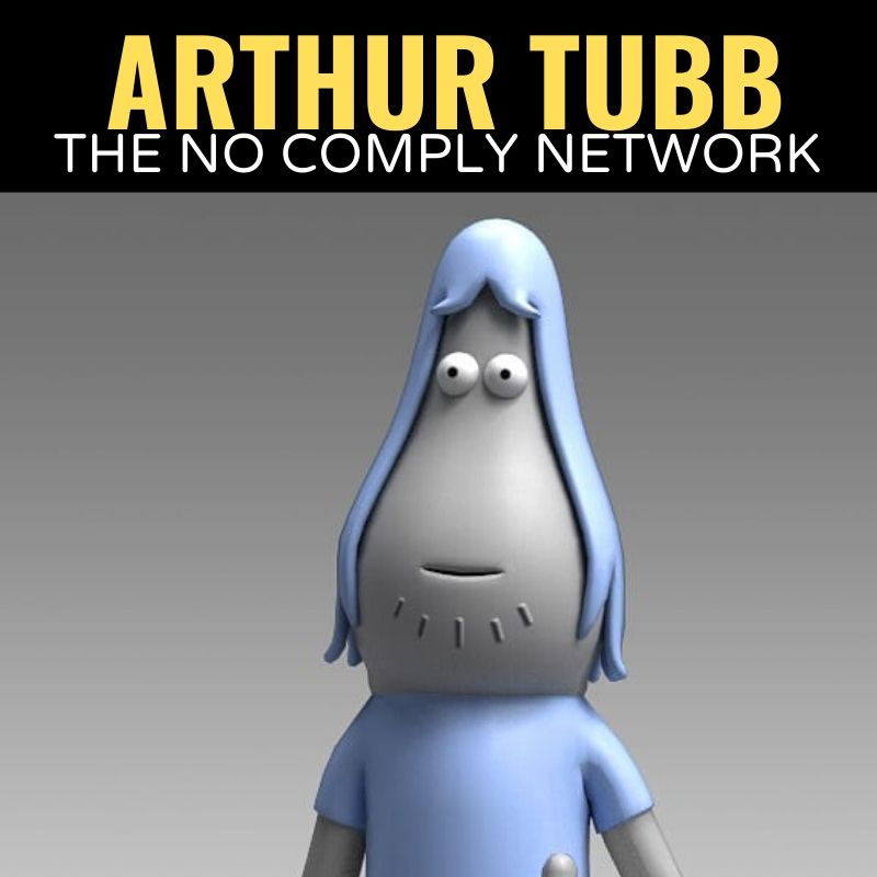 Arthur Tubb The No Comply Network Graphic 1