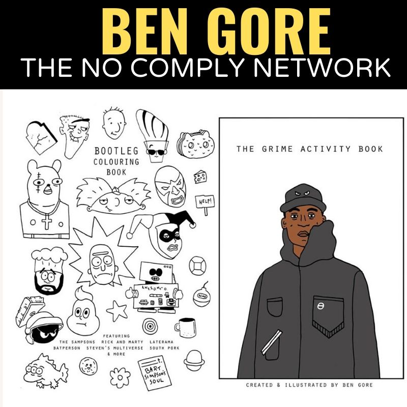 Ben Gore The No Comply Network Graphic