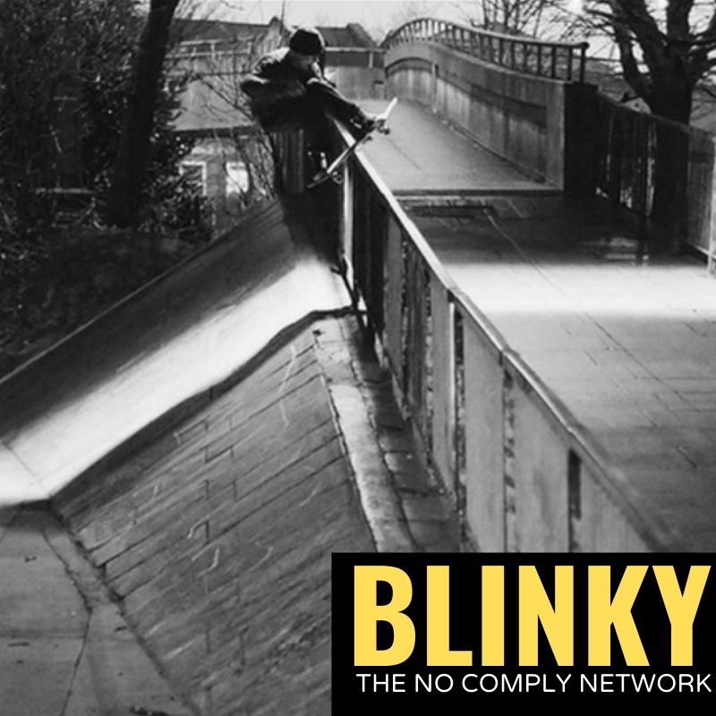 Blinky The No Comply Network Graphic