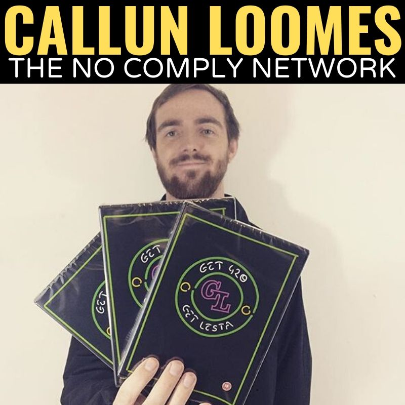 Callun Loomes The No Comply Network Graphic