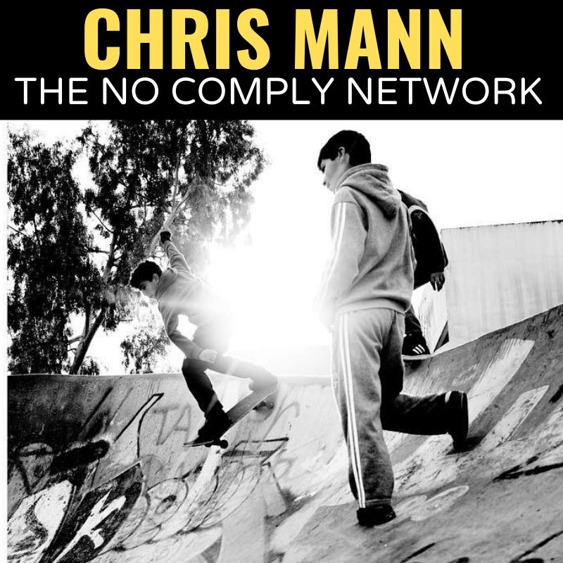 Chris Mann The No Comply Network Graphic