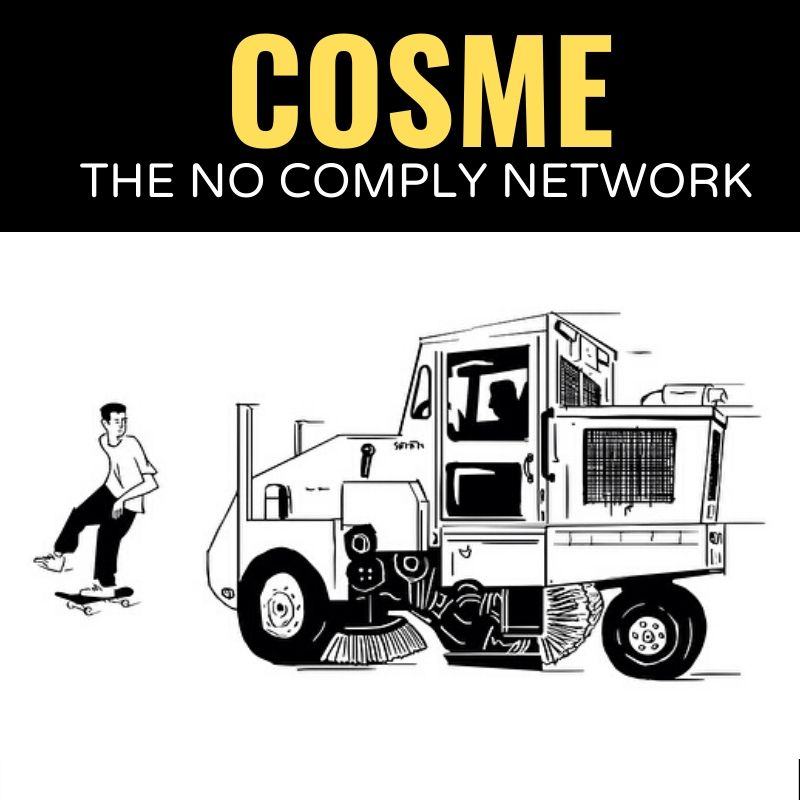 Cosme The No Comply Network Graphic One
