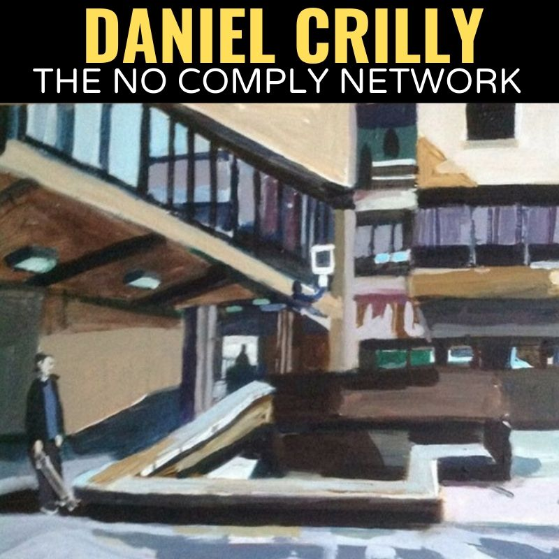 Daniel Crilly The No Comply Network Graphic One