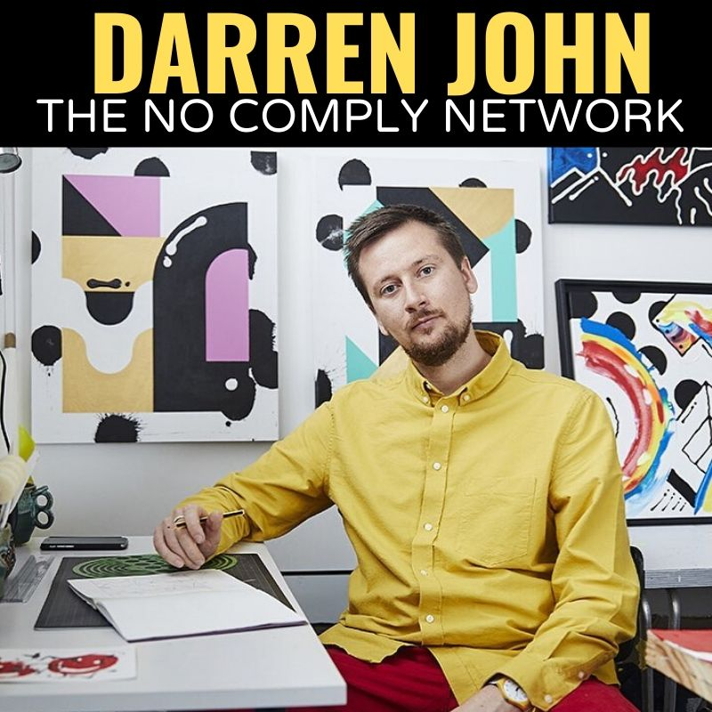 Darren John The No Comply Network Graphic One