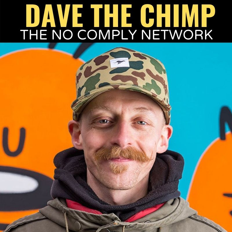 Dave The Chimp The No Comply Network Graphic 1
