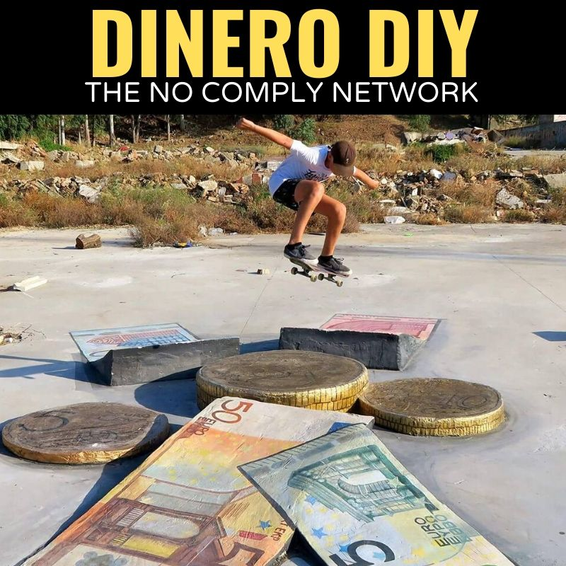 Dinero DIY The No Comply Network Graphic One