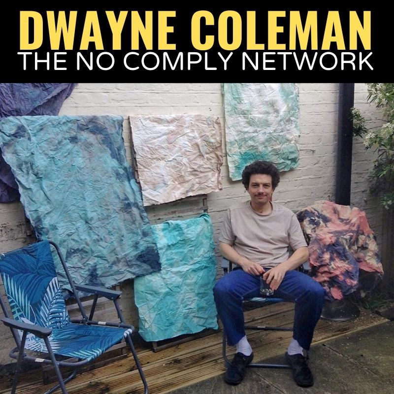 Dwayne Coleman The No Comply Network Graphic One