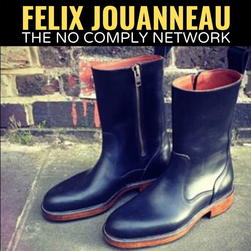 Felix Jouanneau The No Comply Network Graphic One 1