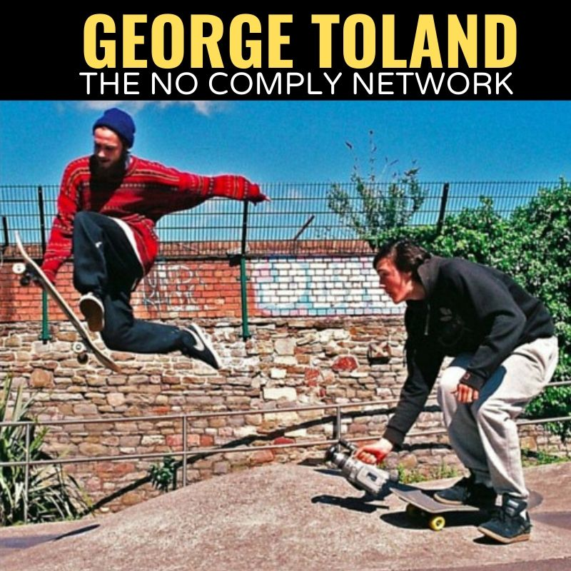 George Toland The No Comply Network Graphic