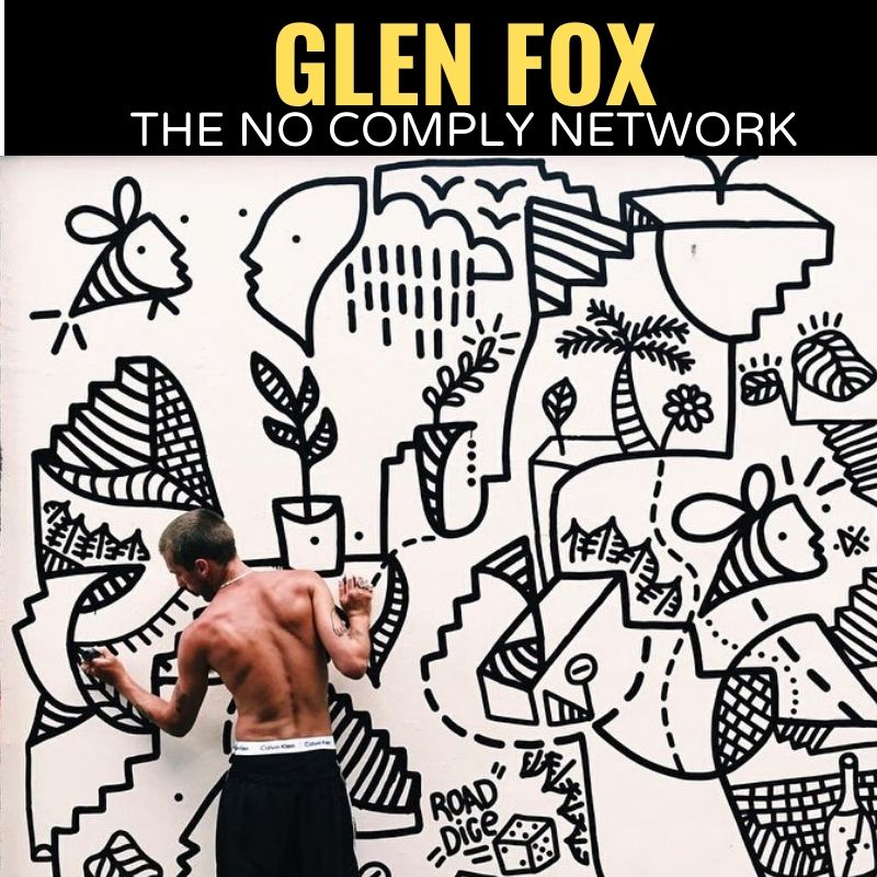 Glen Fox The No Comply Network Graphic Two