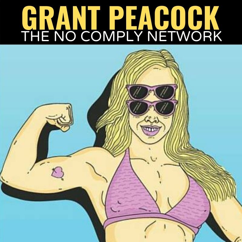 Grant Peacock The No Comply Network Graphic 1