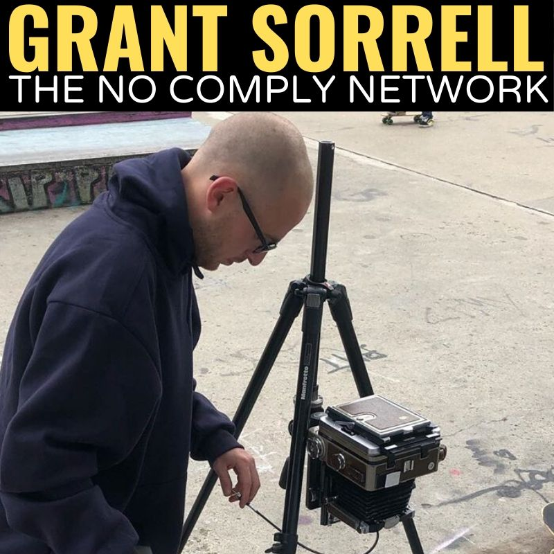 Grant Sorrell The No Comply Network Graphic 1