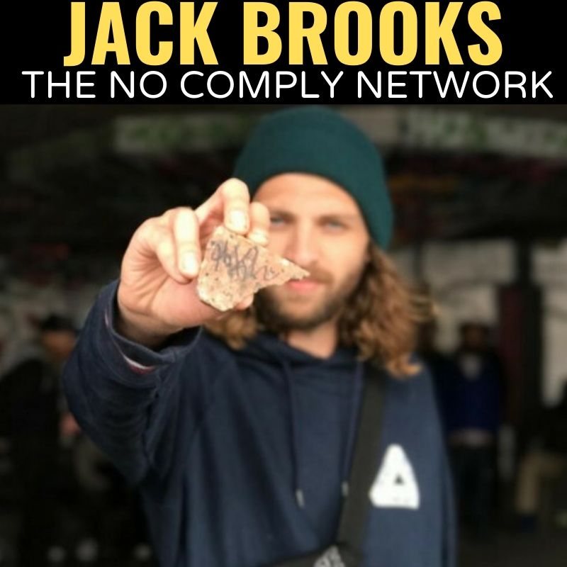 Jack Brooks The No Comply Network Graphic
