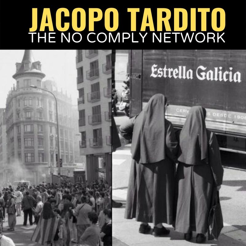 Jacopo Tardito The No Comply Network Graphic