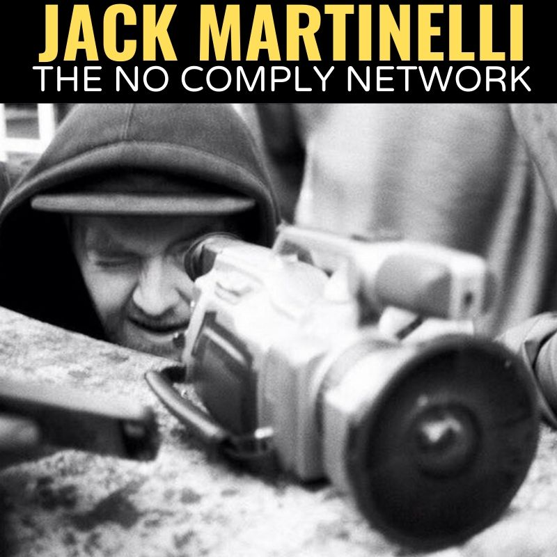 Jake Martinelli The No Comply Network Graphic