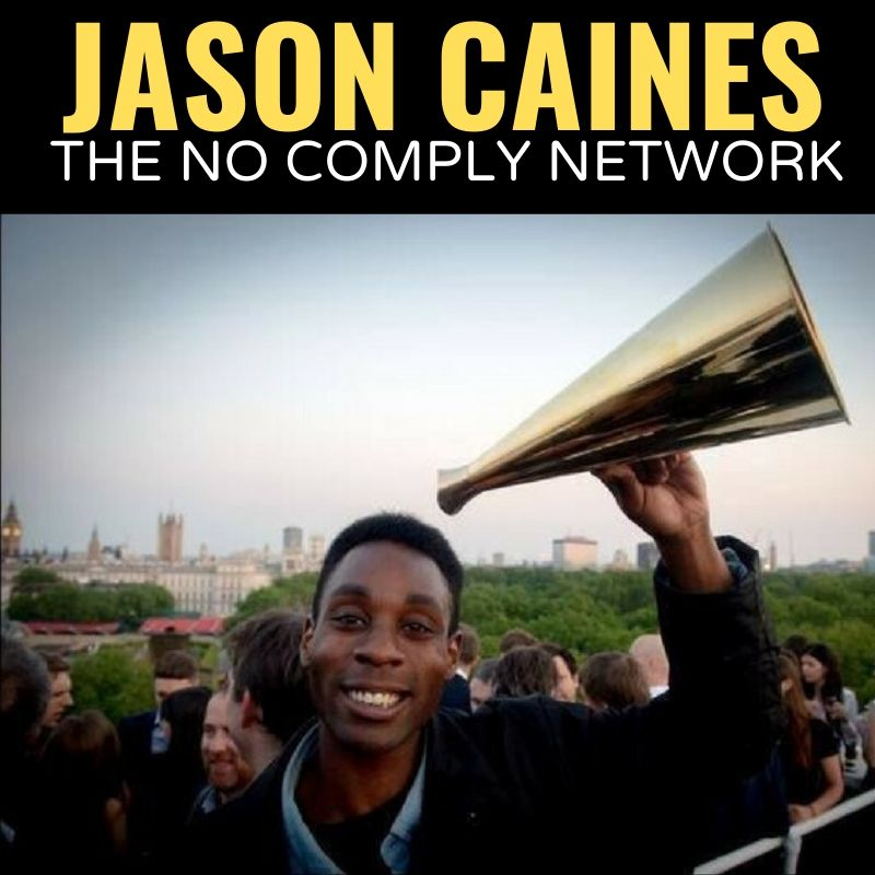 Jason Caines The No Comply Network Graphic