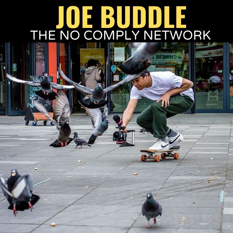 Joe Buddle The No Comply Network Graphic One