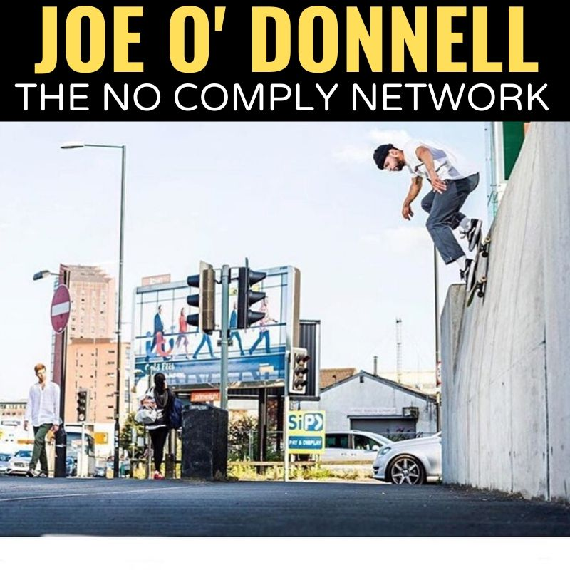 Joe O Donnell The No Comply Network Graphic