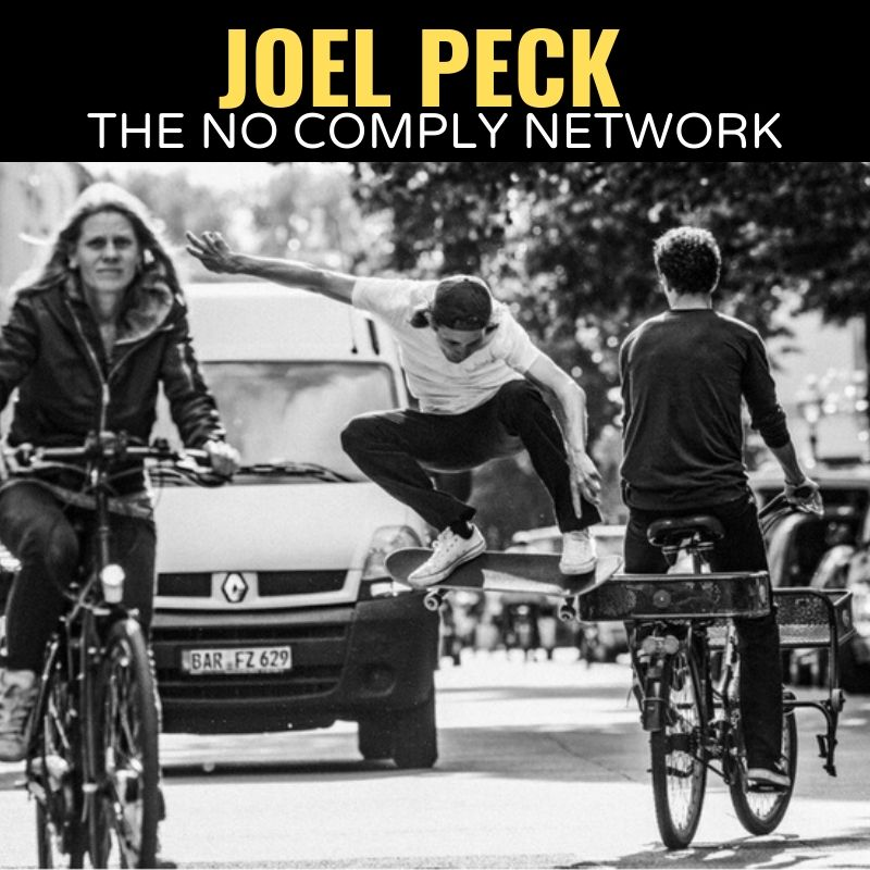 Joel Peck The No Comply Network Graphic