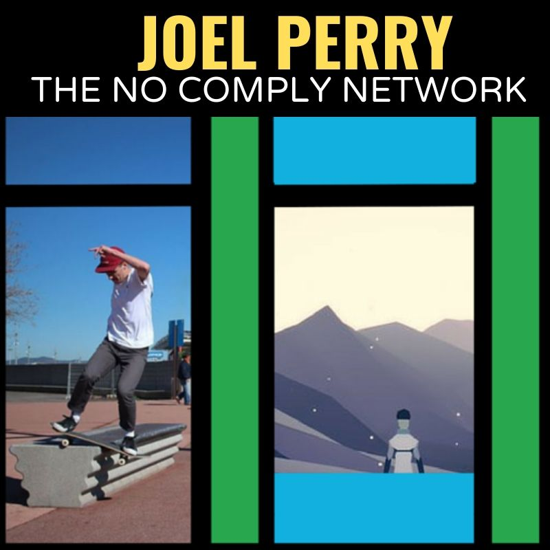 Joel Perry The No Comply Network Graphic