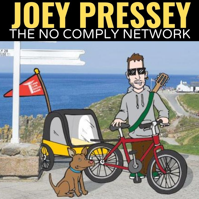Joey Pressey The No Comply Network Graphic One