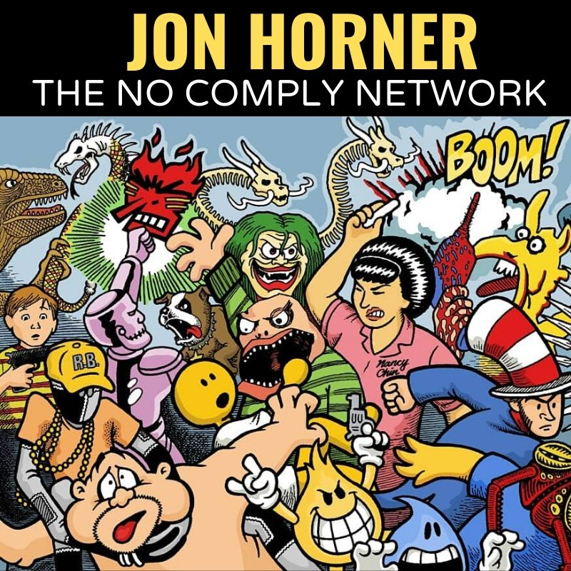 Jon Horner The No Comply Network Graphic One