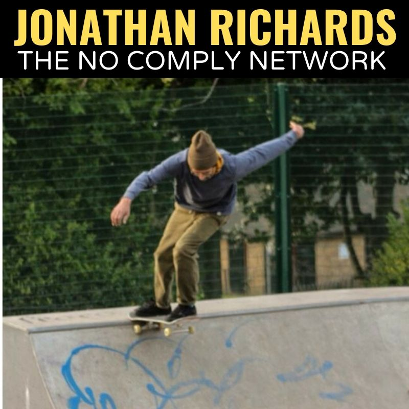 Jonathan Richards The No Comply Network Graphic