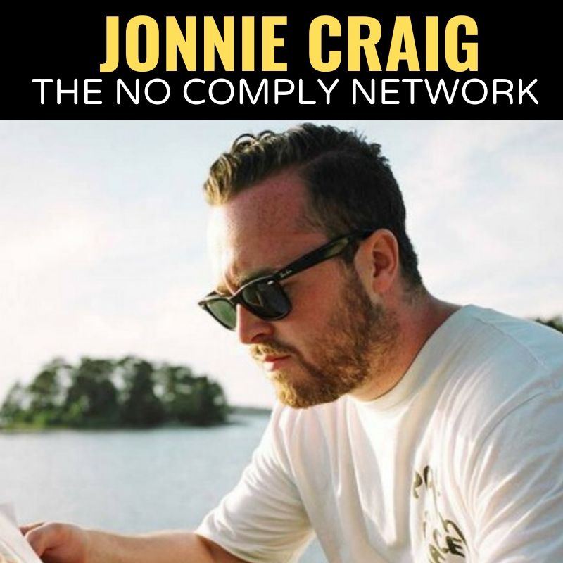 Jonnie Craig The No Comply Network Graphic