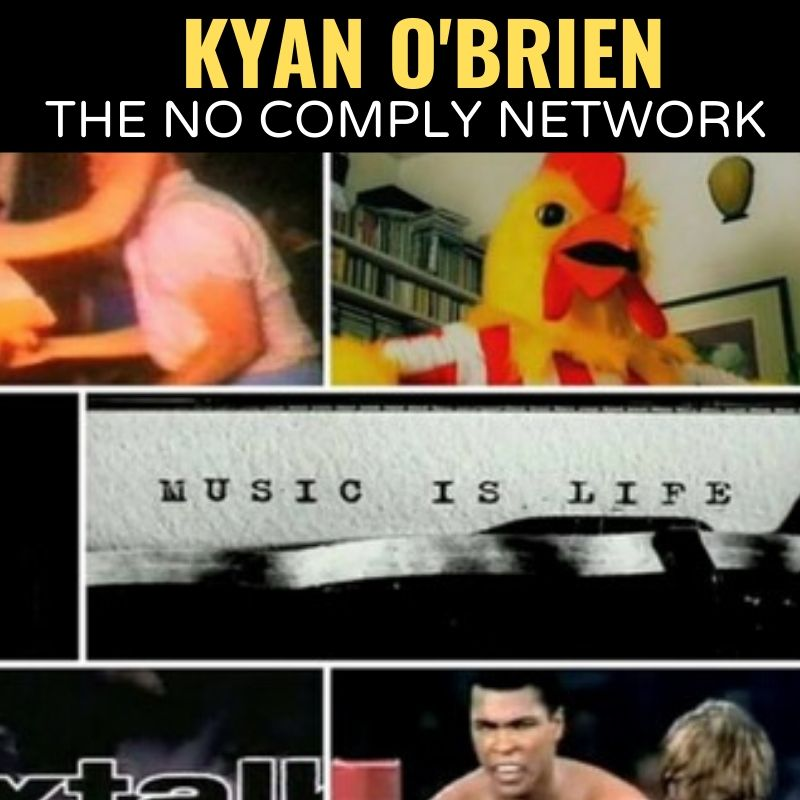 Kyan O Brien The No Comply Network Graphic