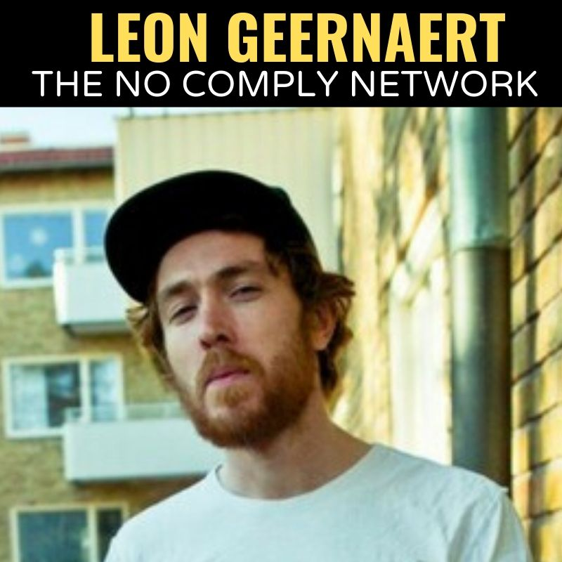 Leon Geernaert The No Comply Network Graphic