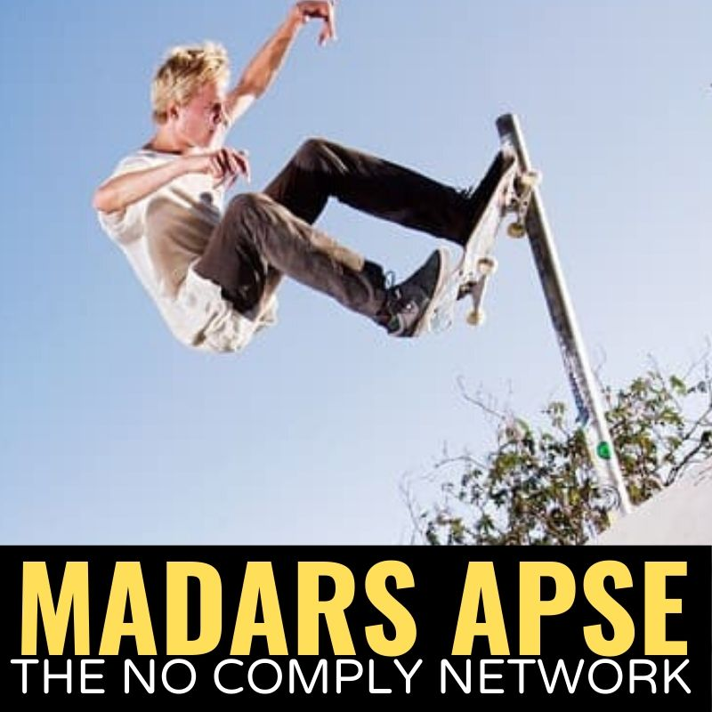 Madars Apse The No Comply Network Graphic