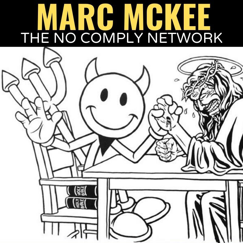 Marc Mckee The No Comply Network Graphic